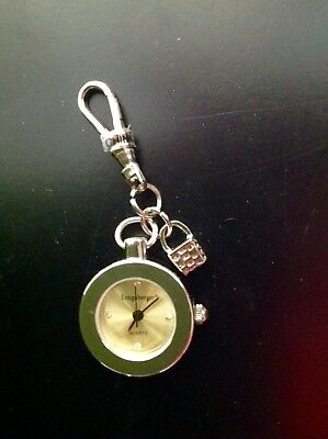 Longaberger Clip On Basket Clock or Watch - Basket Charm, NOS**