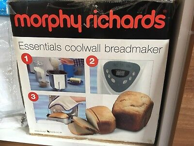 morphy richards breadmaker model 48285 box and instructions included rh picclick co uk