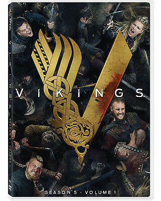 VIKINGS Stagione 5 - VOLUME 1 (3 DVD) SERIE TV WARNER BROS
