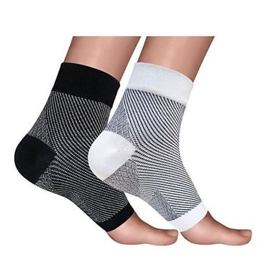 1 Pair Plantar Fasciitis Heel Ankle Socks Foot Pain Compression Relieve Sleeve