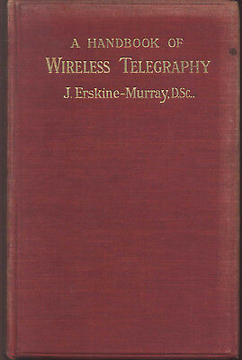 Early Wireless Telegraphy 1911 Radio Marconi Telefunken Tesla Fessenden