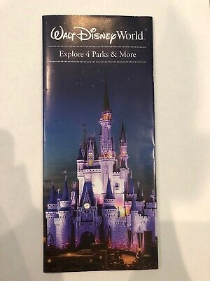Walt Disney World All Theme And Water Park Maps 2018