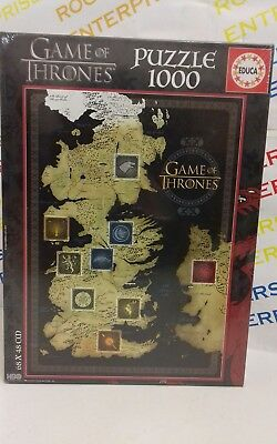 Educa Game of Thrones 1000 Puzzle Jigsaw NEW 17113