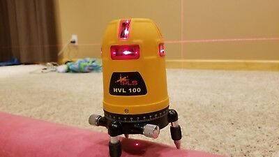 Pacific Laser Systems PLS HVL 100 Line Laser Level hvl-100 360