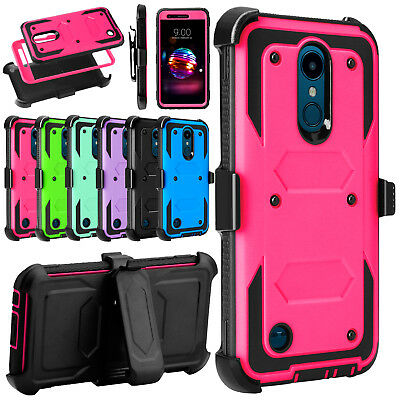 For LG Xpression Plus/K30/K10α 2018 Phone Case Hybrid Rugged Holster Stand Cover