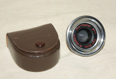 Carl Zeiss Pro-Tessar M1:1 For Contaflex B, Bc & Others Mint In Case 8098