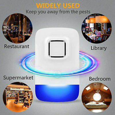Ultrasonic Pest Repellers Repellent Rat Mouse Spider Insect Electric Plug 2018