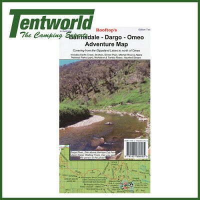 Rooftop Bairnsdale Dargo Omeo Camping Guide Travel Map Edition 2