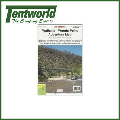 Rooftop Walhalla Woods Point Camping Guide Travel Map Edition 2