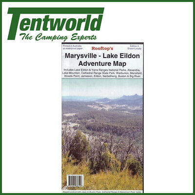 Rooftop Marysville Lake Eildon Camping Guide Travel Map Edition 3