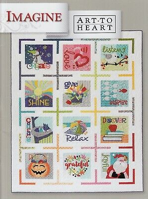 Imagine - inspirational applique project book by Art to Heart