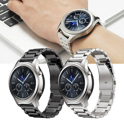 Samsung Gear S3 Classic / Frontier Stainless Steel Strap Watch Band Bracelet UK