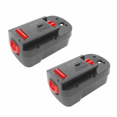 2Pack Battery for Black&Decker HPB18 HPB18-OPE 244760-00 Cordless Power Tools SK