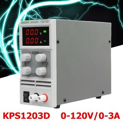 Adjustable Regulated Mini Switch Power Supply Output 0-120V 0-3A AC 110~220/220V