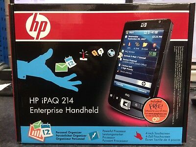 "HP iPAQ 214 Enterprise Handheld Windows Mobile 6 Classic 4.0"" PDA"
