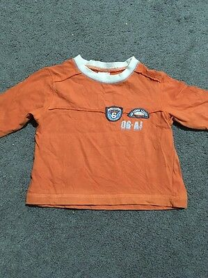 Baby Boys Long Sleeve Top Size 00 GUC