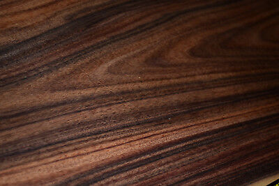 Santos Rosewood Raw Wood Veneer Sheets 9 x 34 inches 1/42nd thick         4710-3