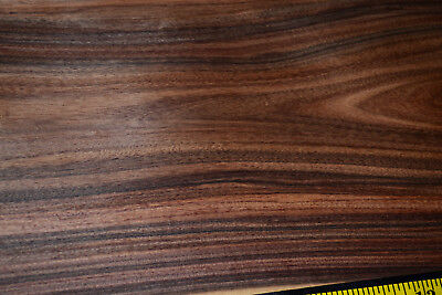 Santos Rosewood Raw Wood Veneer Sheets 9 x 31 inches 1/42nd thick         4710-2