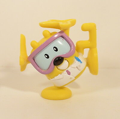 "2007 Doctor Wow Wow Wubbzy 2.5"" Kooky Stackable PVC Action Figure Nick Jr"