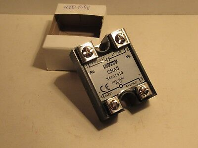 Crouzet Gna5 25A 24-280Vac 4-32Vdc Solid State Relay New
