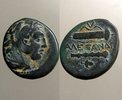 ALEXANDER III THE GREAT BRONZE AE19_____Ancient Macedonia______CLUB & BOWCASE