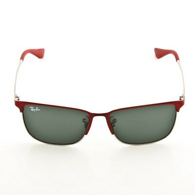 Ray-Ban Sonnenbrille RJ9535S 245/71 Satin Red Silver Junior