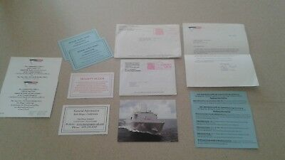 Correspondence To The Commissioning Of The Navy Ship San Diego (Lpd 22) Military