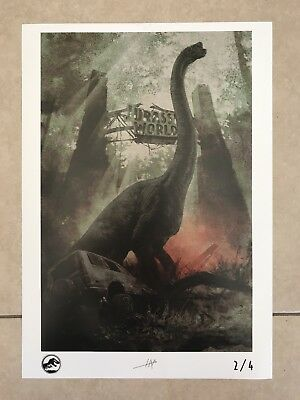 Jurassic World Fallen Kingdom Limited Edition Poster 2/4