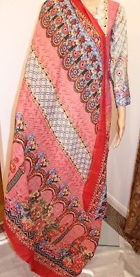 Asian/Pakistani/Indian Stitch Shalwar Kameez 3 piece Lawn Suit with duppata