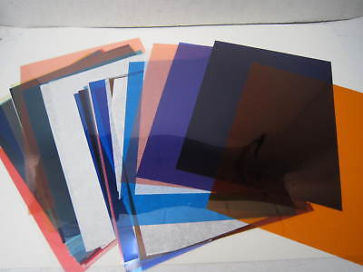 Photographic colored gels