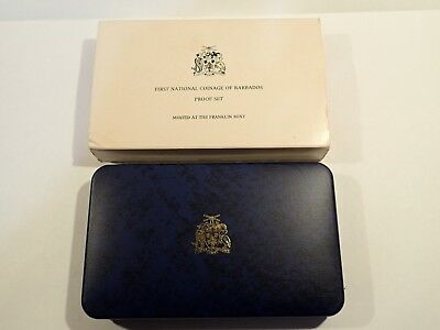 1973 First National Coinage of Barbados Proof Set