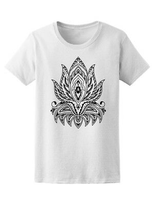 Beautiful Lotus Boho Mandala Women's Tee -Image by Shutterstock