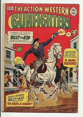 Gunfighters #16 - Silver Age Super Comics - Billy the Kid - VG 4.0