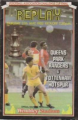 FA Cup Final Replay 1982 QPR V Tottenham - Tatty