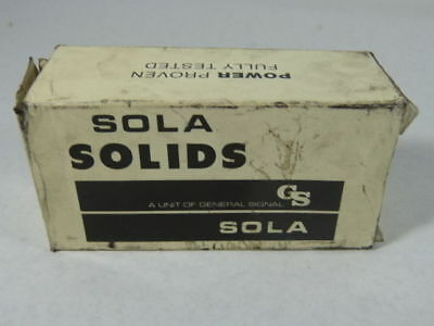 Sola Electric 85-15-2135 Power Supply 115VAC 15VDC 350mA ! NEW !