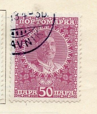 Montenegro 1915 Early Issue Fine Used 50p. 252008