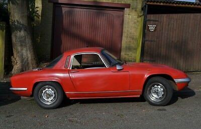 1968 Lotus Elan S4 F.h.c In Red ** All Lotus Models Required In Any Condition **