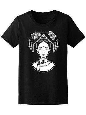 Beautiful Chinese Ancient Women's Tee -Image by Shutterstock