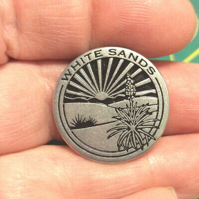 National Monument Token WHITE SANDS NATIONAL MONUMENT collector Token 1 inch