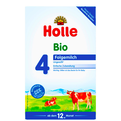 4 Holle Stage 4 Organic Baby Milk Formula 12 month & up 600g, PRIO FREE SHIPPING