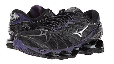 pretty nice 12a98 49965 Mizuno s Women s Wave Prophecy 7 in BLACK-SILVER 9073 Sz ...