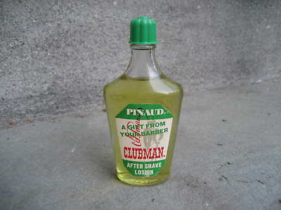 Vintage Pinaud Clubman After Shave Lotion Bottle Gift From Your Barber