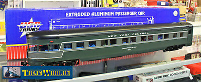 USA Trains G scale 1:29 NYC 20th Century Limited Observation Car R31030Aluminium