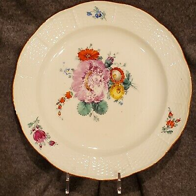 Russia Russian Imperial Porcelain Plate Everyday Service Catherine  1762-1796 #2
