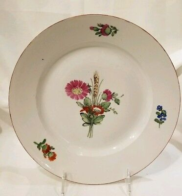 Russia Russian Imperial Porcelain Plate Everyday Service Paul I  1796-1801