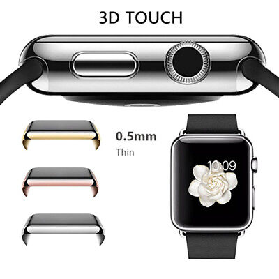 Full Cover PC Case For Apple Watch Series 3, 2,1 iWatch Protector Slim uk ship