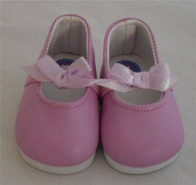 Mauve Dress Doll Shoe 4 Baby Born / Baby Born Sister / Baby Alive