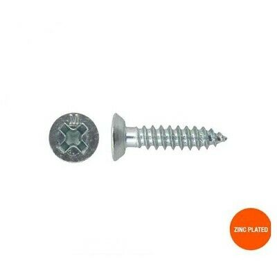 Self Tapping Countersunk Head Undercut Screws 8g x 13mm Zinc - Box of 1000 - 22C