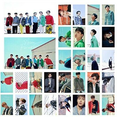 30pcs/set Kpop MONSTA X SHINE FOREVER Poster Photo Card Lomo Card Fans Gift