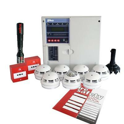 New Fike Twinflex pro² 2 Zone Fire Alarm Kit 604-0002. Brand new panel Version